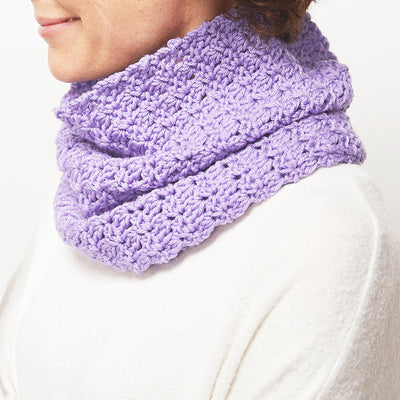 Primrose Stitch Cowl Crochet Kit