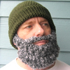 Santa Claus Crochet Beard Pattern