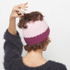 Pretty Pink Messy Bun Hat Crochet Pattern