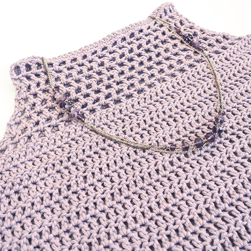 Light Crochet Tank Top Crochet Pattern Makerdrop