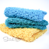 Simple Square Scrubby Dishcloth Crochet Pattern