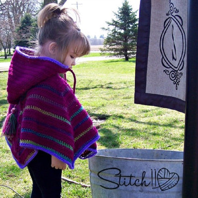 Toddler Poncho Crochet Pattern