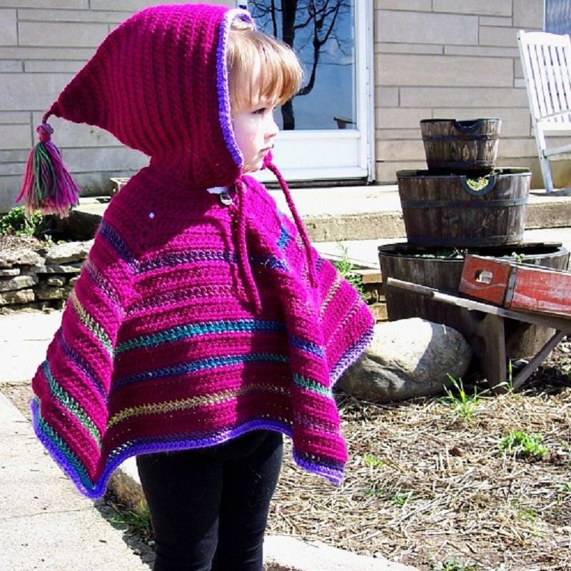 Toddler Poncho Crochet Pattern Makerdrop
