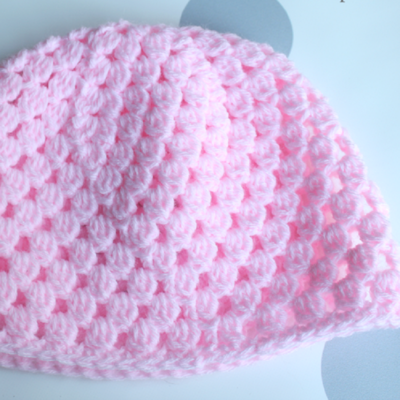 71144f5ab8d Cluster Newborn Hat Crochet Pattern Makerdrop Cool Newborn Hat Crochet  Pattern .
