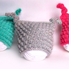 Newborn Double Knot Beanie Crochet Pattern