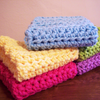 Simple Crochet Dish Cloth Crochet Pattern