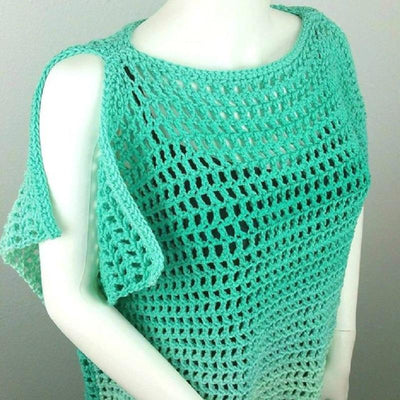 Coraline's Endless Summer Tunic & Beach Cover-up Crochet Kit
