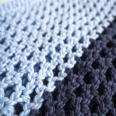 Two Toned Infinity Scarf Crochet Kit