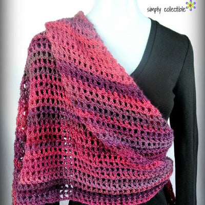 Coraline In The Wine Country Shawl Crochet Pattern