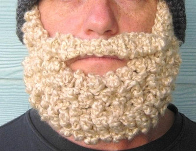 Beard Beanie Santa Claus Hat Crochet Pattern