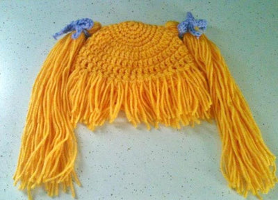 Crochet Hat Pattern Cabbage Patch Wig Costume
