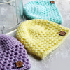 Mesh Newborn Hat Crochet Pattern
