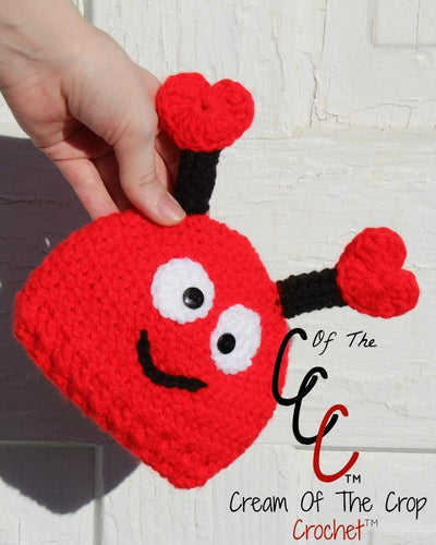 Preemie Newborn Love Bug Hat Crochet Pattern