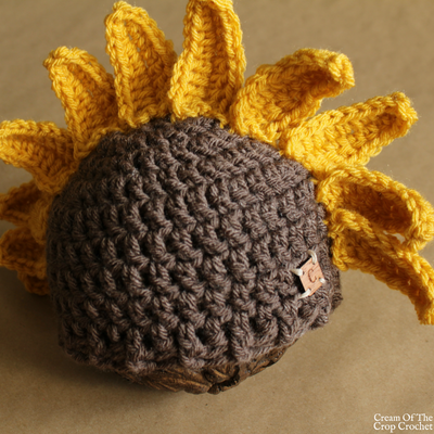 Sadie the Sunflower Hat Crochet Pattern