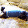 Small Dog Coat Crochet Pattern