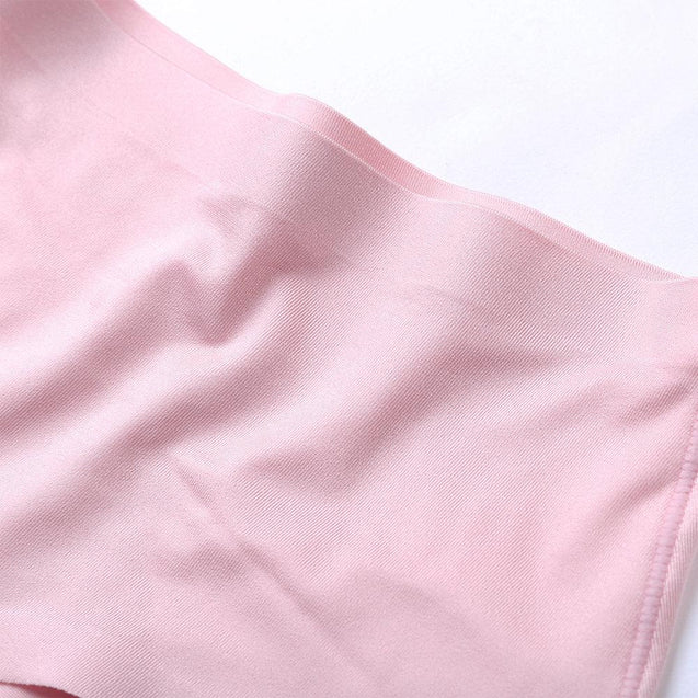 Ice Silk Seamless Sexy Comfortable Mid Waist Panties
