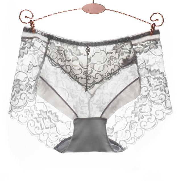 Sexy Lace Slouchy Waist Briefs