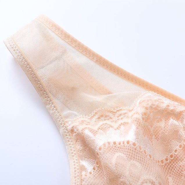 Deep Plunge Busty Lace Breathable Unlined Bras