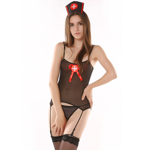Role Playing Nurse Clothes Sexy Pajamas