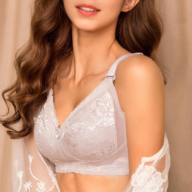 Wireless Lace Unlined Full Cup Bras