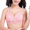 Printed Knitting Cotton Wireless Bra