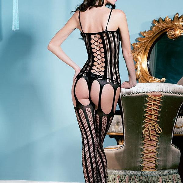 Sexy See Through Mesh Bodystocking For Women