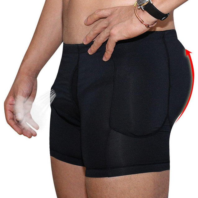 Plus Size Lifting Compression Detachable Pads Underwear