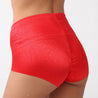 Lace Hip Lifting Jacquard Seamless Breathable Mid Rise Panties