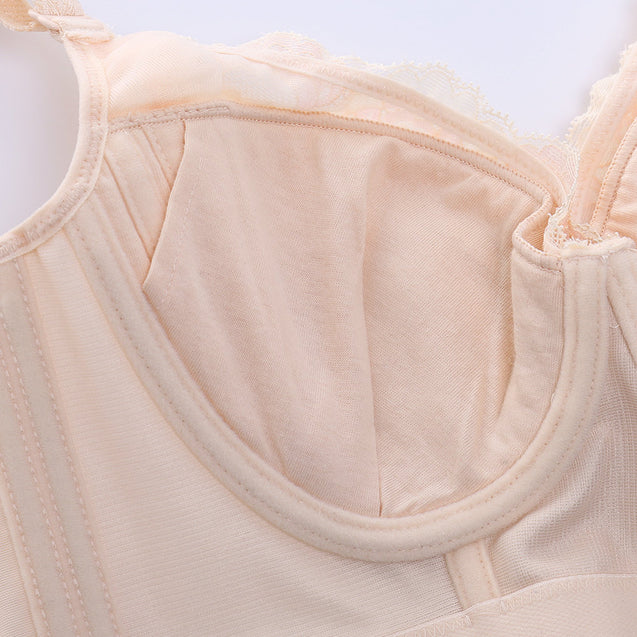 Push Up Lace Side Support Thin Bras
