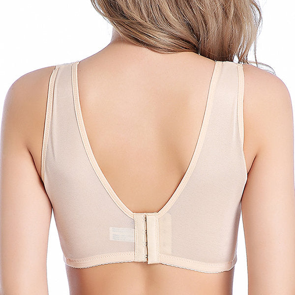 Mastectomy Wireless Full Cup Lace Soft Bras