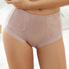 Mid Waist Breathable Striped Panties For Women