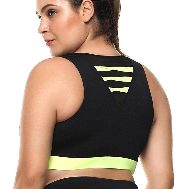 Plus Size High Support Breathable Sports Bras