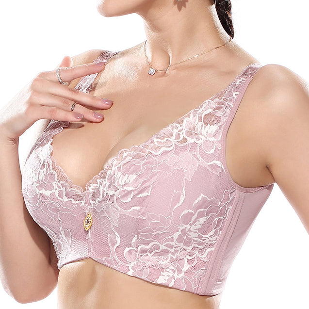 Push Up Lace Full Cup Lightly Lined Bras