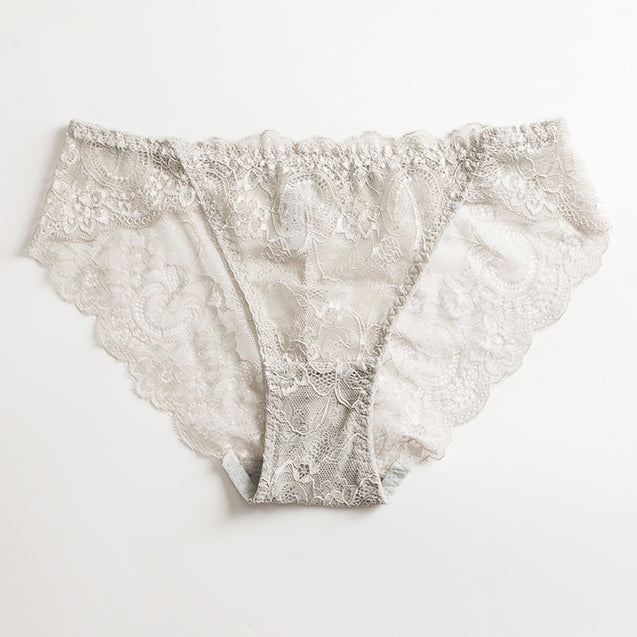 Sexy Breathable Lace Comfortable Low Waist Briefs