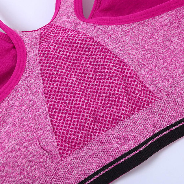Front Zipper Shockproof Fitness Breathable Sport Bras