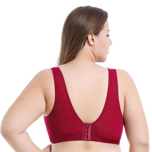 Thin Push Up Adjustable Sexy Breathable Bra