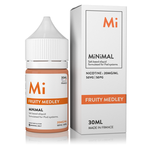 nic salts minimal the fuu fruity medley 30ml 20mg