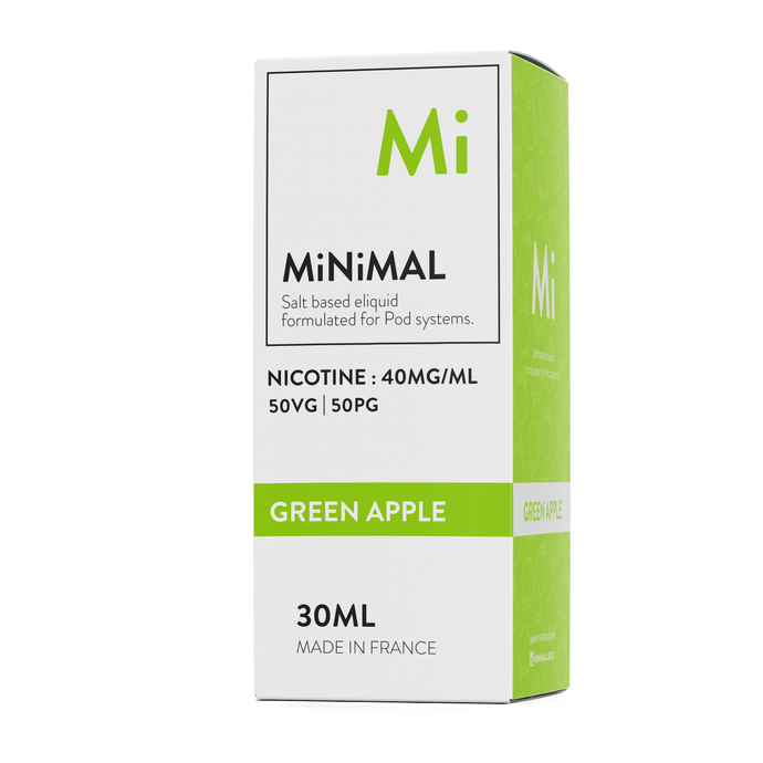 nicotine salt minimal the fuu green apple