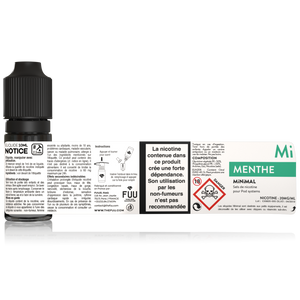 sels de nicotine minimal the fuu menthe 10ml 20mg