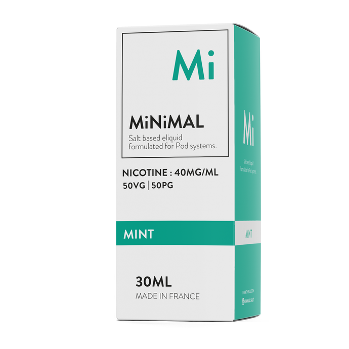 nic salts minimal the fuu mint