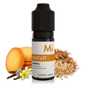 sels de nicotine minimal biscuit the fuu 10ml