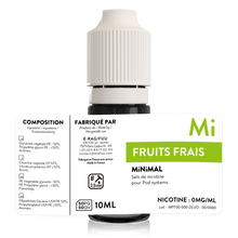Charger l'image dans la galerie, sels de nicotine minimal the fuu fruits frais 10ml 0mg