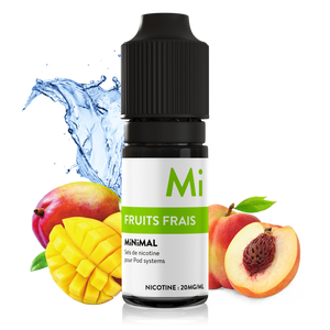 sels de nicotine minimal the fuu fruits frais 10ml