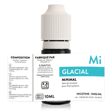 Charger l'image dans la galerie, sels de nicotine minimal the fuu glacial 10ml 0mg