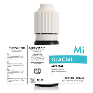 sels de nicotine minimal the fuu glacial 10ml 0mg