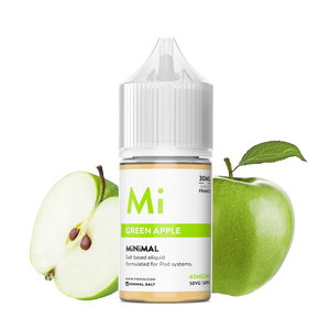 nicotine salt minimal the fuu green apple 30ml