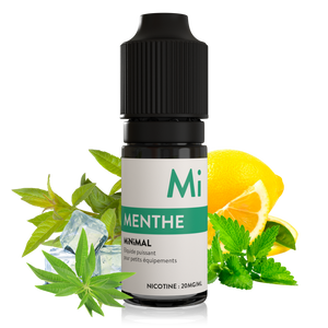 sels de nicotine minimal the fuu menthe 10ml