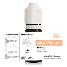 Charger l'image dans la galerie, sels de nicotine minimal the fuu mille feuilles 10ml 0mg