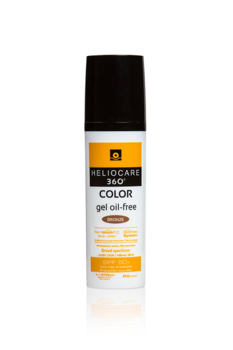Heliocare 360 SPF50 Gel Oil Free Color Bronze - 50ml