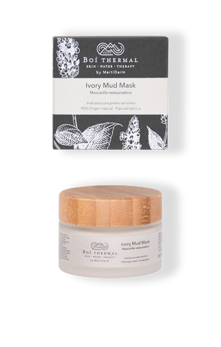 Mascarilla Ivory Mud Mask Boi Thermal